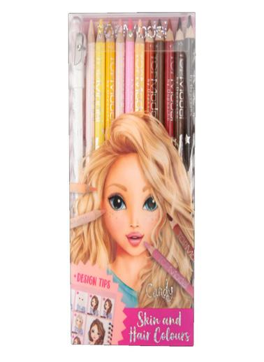 Top Model Topmodel Kalem Seti Ten ve Saç Renkli 5678 Renkli